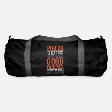 Hold'em Poker Texas Holdem gift I poker player - Duffle Bag