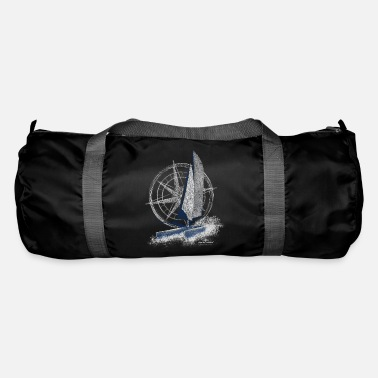 Garda Lakers catamaran compass - Duffle Bag