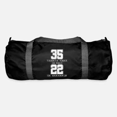 Scrabble Thirty Five Is Only 22 Scrabble - Funny Scrabble - Duffel Bag