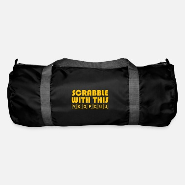 Scrabble Scrabble With This YKOFCUU - Funny Scrabble - Duffel Bag