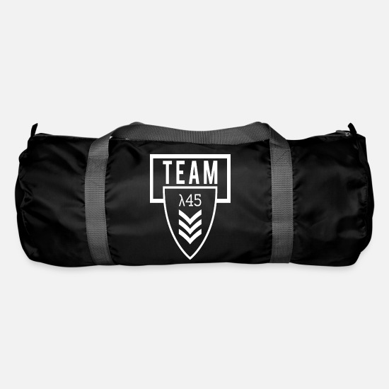Gift Idea Bags & Backpacks - Military army soldier army team gamers - Duffle Bag black