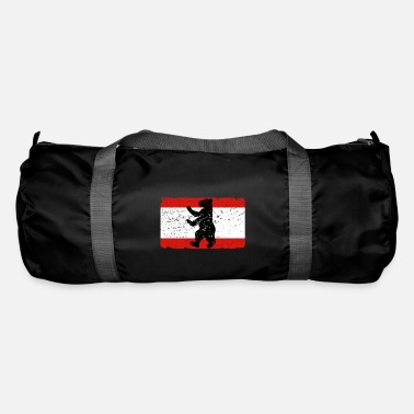 Berlin Bear Berlin bear with Berlin flag - Duffel Bag