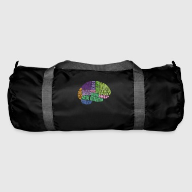 Region The regions of the brain - Duffel Bag
