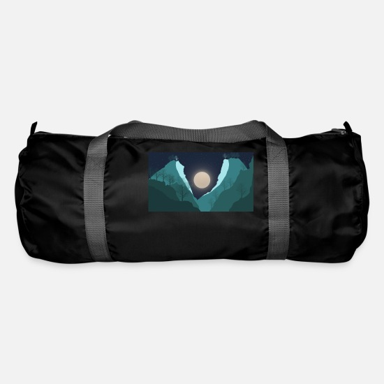 Skies Bags & Backpacks - Night View - Duffle Bag black