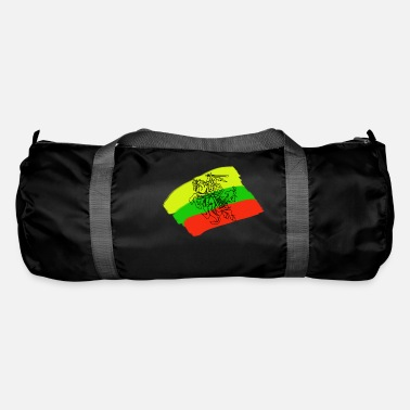 Lithuanian Lithuanian flag with rider - Duffle Bag