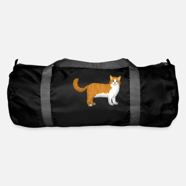 Red Norwegian Forest Cat - Duffle Bag
