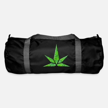 Stylised Leaf Shape - Duffle Bag