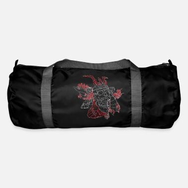 Cherry Silent scream of a samurai - Duffle Bag