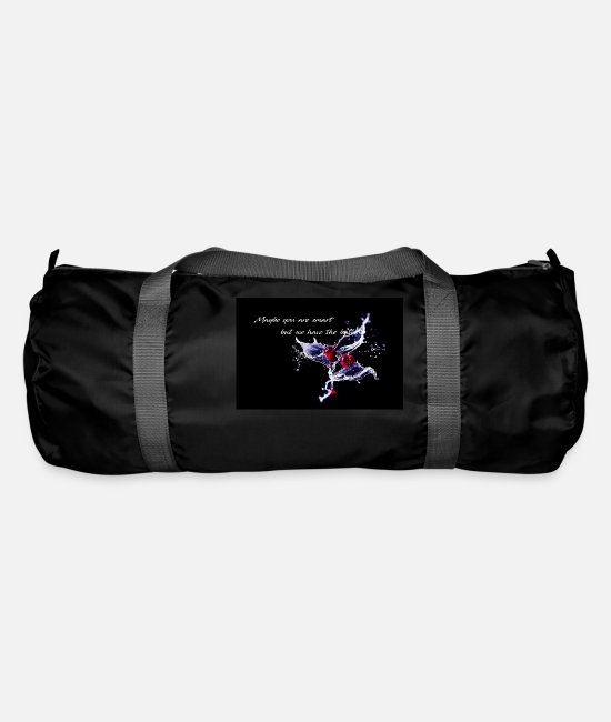 Water Bags & Backpacks - Cherry - Maybe you are smart - Duffle Bag black
