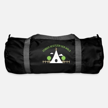 Waldkind - children own the forest - Duffle Bag