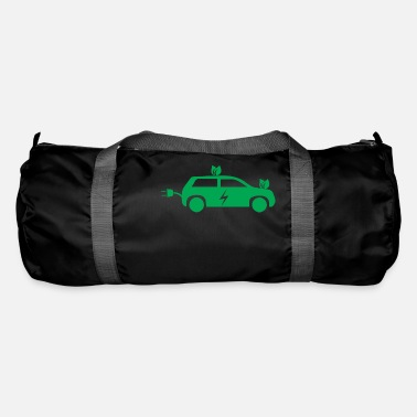 Car Electric car electric mobility electricity gift - Duffle Bag