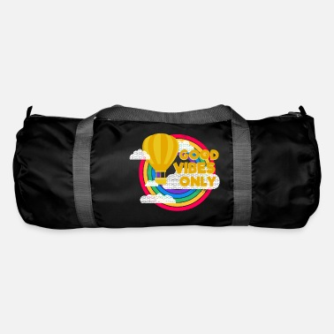Philosophy Good Vibes Only (circles) - Duffle Bag