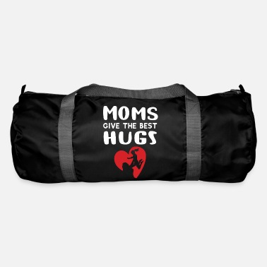Happy Moms Give The Best Hugs Hugging Mother's Day Gift - Duffle Bag