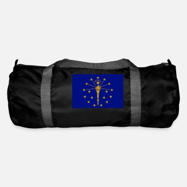 State Of Indiana Indiana State Flag - Duffle Bag