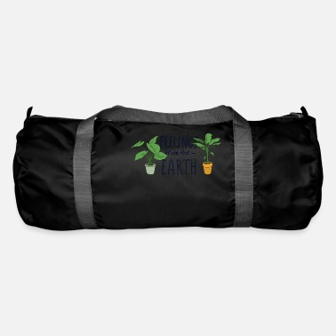 Plant Grounds Feelings from the Earth - Duffle Bag