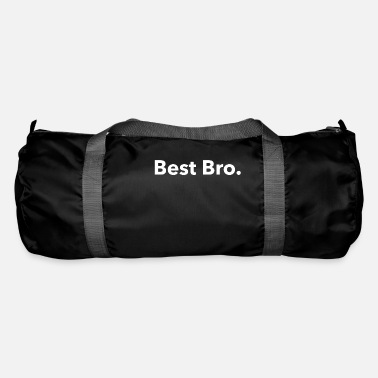 Express Friendship Best Bro. White. Friendship. Gangster. Gift. - Duffle Bag