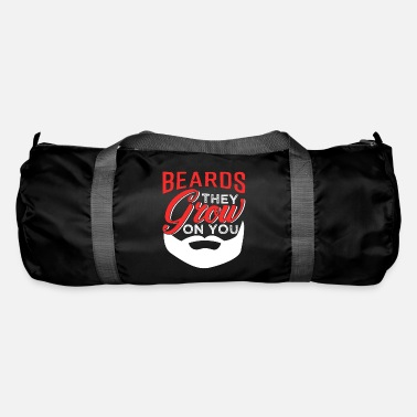 Facial Hair Beard facial hair mustache - Duffle Bag