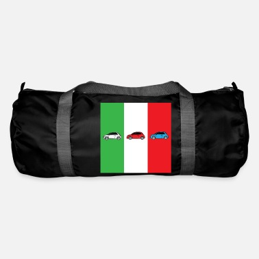 Italian Car Italian Flag - Duffle Bag