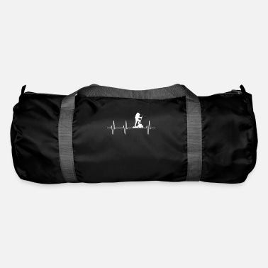Alps Mountains Mountaineering mountaineers hiking Alps - Duffle Bag