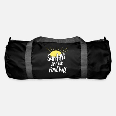 Football Sunday is football! Footballer football match - Duffle Bag