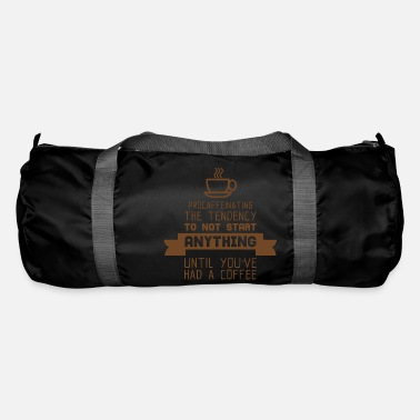 Coffee Drinkers COFFEE DRINKER - Duffle Bag
