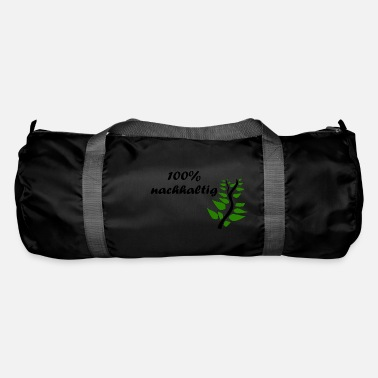 Sustainable 100% sustainable - black - Duffle Bag