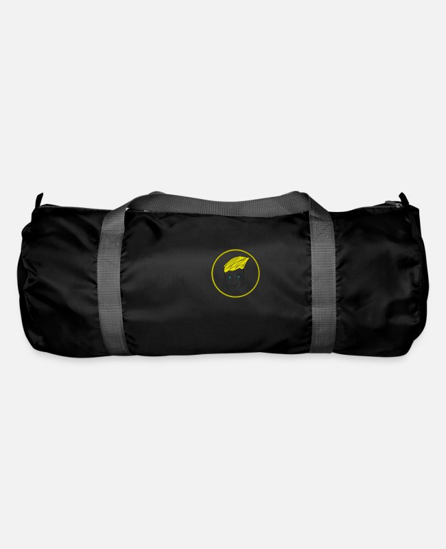 Party Bags & Backpacks - face - Duffle Bag black