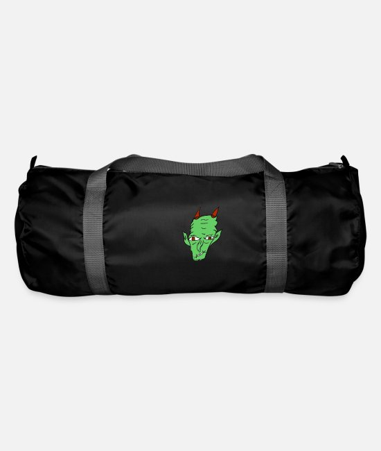 Undead Bags & Backpacks - monster - Duffle Bag black