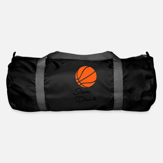 Ball Bags & Backpacks - Slam Dunk Basketball Sport - Duffle Bag black