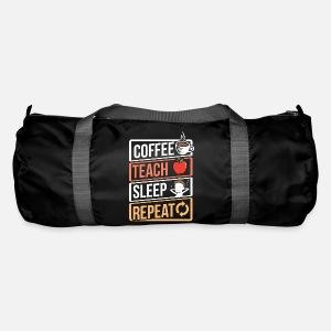 Coffee Lover Teach Sleep Birthday Gift Idea Von