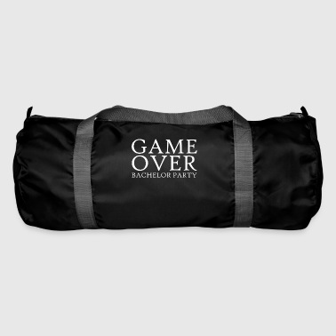 GAME OVER BACHELOR Party JGA Gifts Party Shirt - Duffel Bag