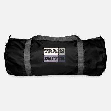 Train Train driver | Railway locomotive train trains train - Duffle Bag