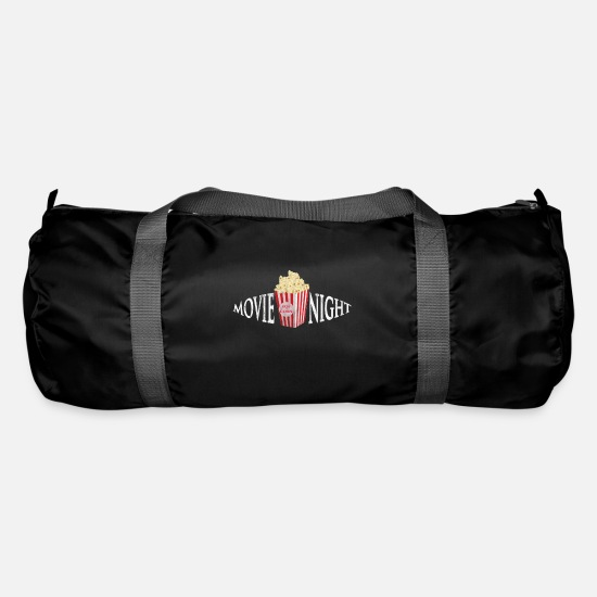 Gift Idea Bags & Backpacks - Cinema Movies Film Night Passion - Duffle Bag black
