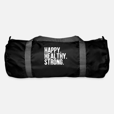 Healthy Happy Strong Gift - Duffle Bag