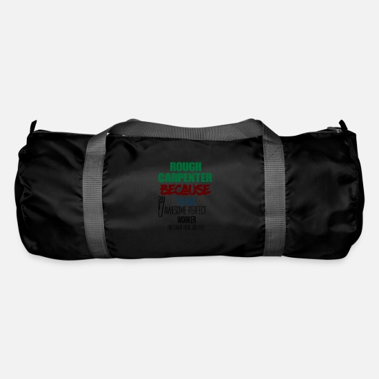 Awesome Bags & Backpacks - Rough Carpenter - Duffle Bag black