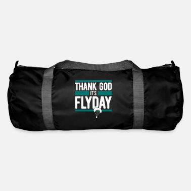 Paragliding, Paragliding - Thank God It's Flyday - Duffle Bag