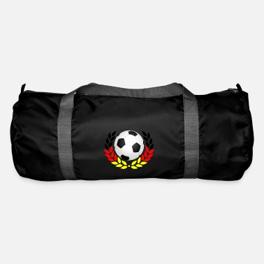 Black Red Gold Football black red gold - Duffle Bag