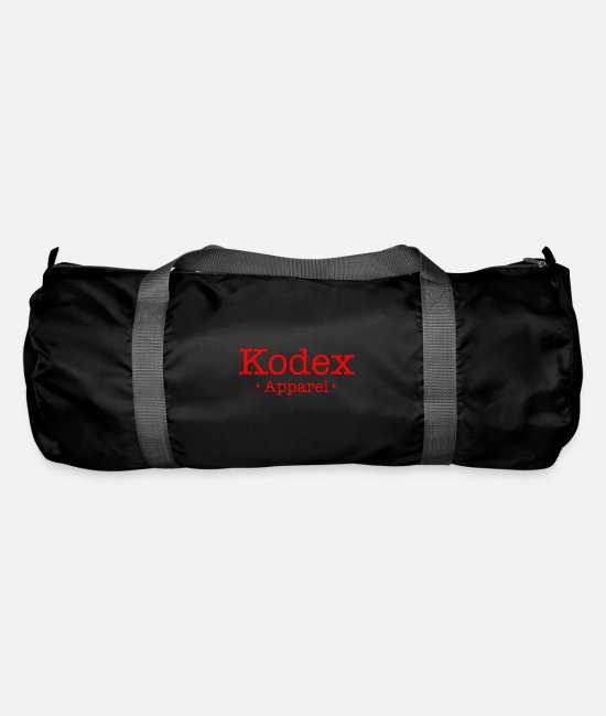 Society Bags & Backpacks - Codex Apparel - Basics - Duffle Bag black