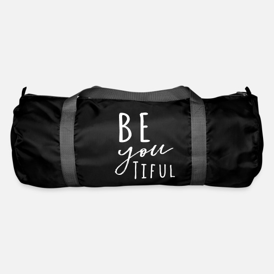 Emozione Borse & Zaini - Be-YOU-tiful - Borsa sportiva nero