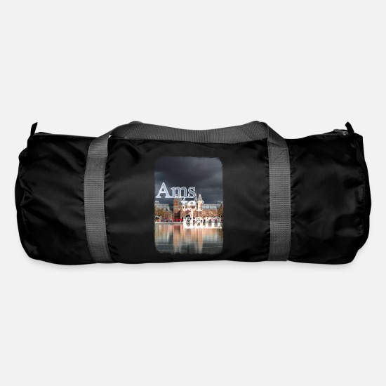 Dutch Bags & Backpacks - Amsterdam Museum - Duffle Bag black