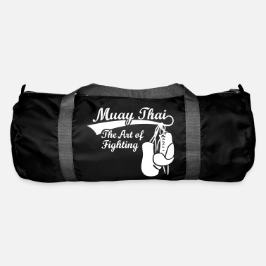 Sports Muay Thai boxing MMA boxer, boxing  gloves - Duffel Bag
