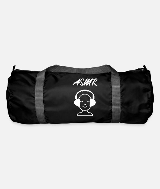Relaxe Bags & Backpacks - ASMR knows - Duffle Bag black