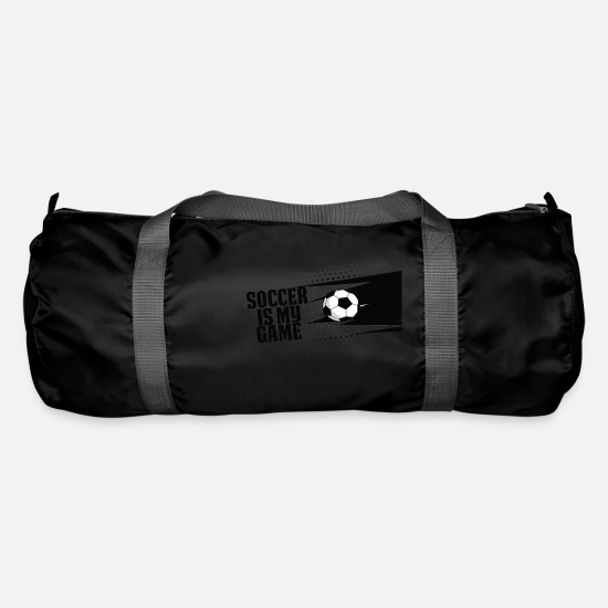 Soccer Bags & Backpacks - Soccer - Soccer is my game - Duffle Bag black