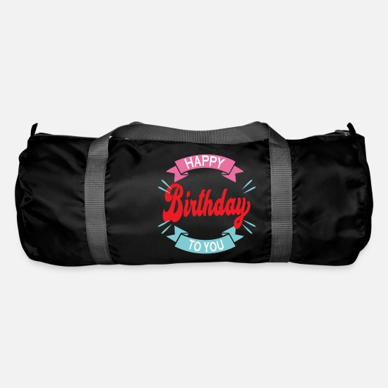 Birthday Bags & Backpacks - Birthday | Congratulation gift - Duffle Bag black