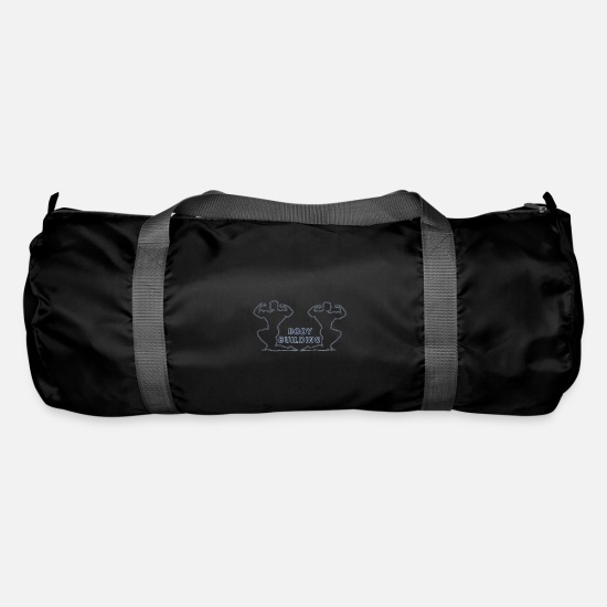 Body Builder Bags & Backpacks - body builder - Duffle Bag black