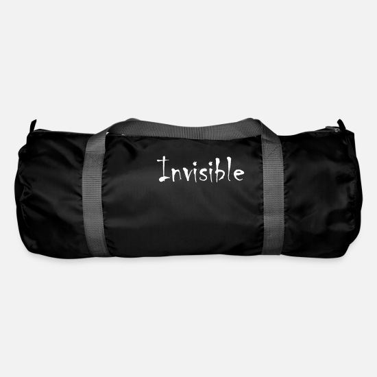 Excelent Bags & Backpacks - invisible - Duffle Bag black