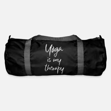Yoga Yoga yoga top Yoga is mijn therapiegift - Sporttas