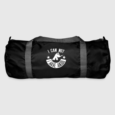 aikido i can not quote have sport  - Duffel Bag