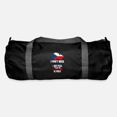 Proud Czech I don't need therapy, I just have to go to the Ts - Duffle Bag