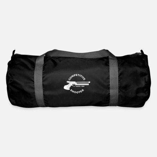 Gift Idea Bags & Backpacks - competition shooting - Duffle Bag black